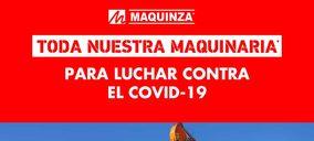 Maquinza rebaja al 50% toda su maquinaria para luchar contra el Covid-19