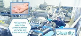 Cleanity crece a doble dígito y ayuda a las empresas a combatir el Covid-19
