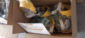 Kiloutou dona equipos de protección individual a hospitales