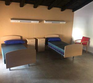 Aragón abre cinco centros residenciales para mayores afectados con coronavirus
