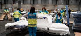 España proyecta habilitar casi 11.500 camas en hospitales de campaña