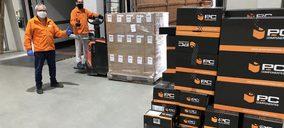 PcComponentes dona 600 kg de filamento para la impresión 3D de equipos de protección contra la COVID-19