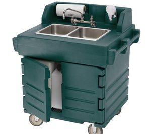 DBMark lanza la estación de lavado portátil de Cambro