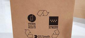 DS Smith dona 10.000 mesas auxiliares de cartón al hospital de campaña en Ifema