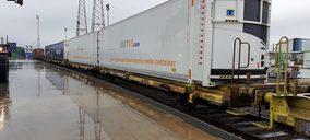 Transfesa inicia un servicio ferroviario frigorífico