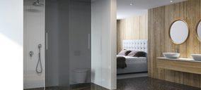 Duscholux lanza nueva mampara y sistema de revestimiento de pared