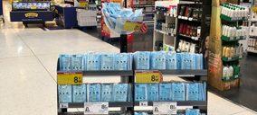 Las mascarillas llegan al supermercado de la mano de Carrefour, Eroski, DIA, Lidl y Ahorramas