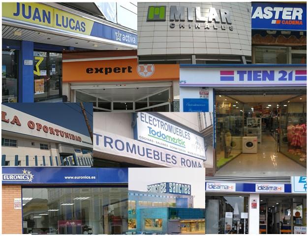 El pequeño comercio de electrodomésticos podrá abrir en las primeras fases del plan de