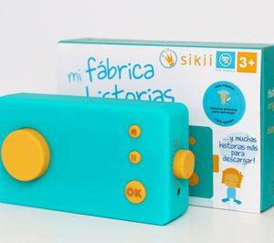 'Sikii' lanza el cuentacuentos para niños 'Mi Fábrica de Historias'