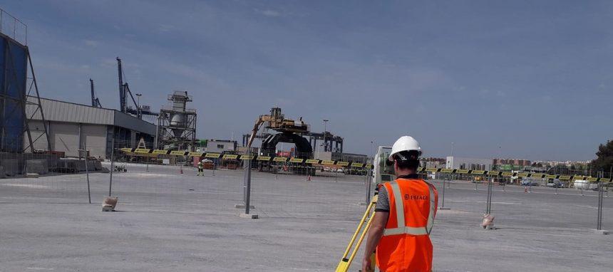Eiffage Infraestructuras inicia las obras de su nueva terminal en el Puerto de Alicante