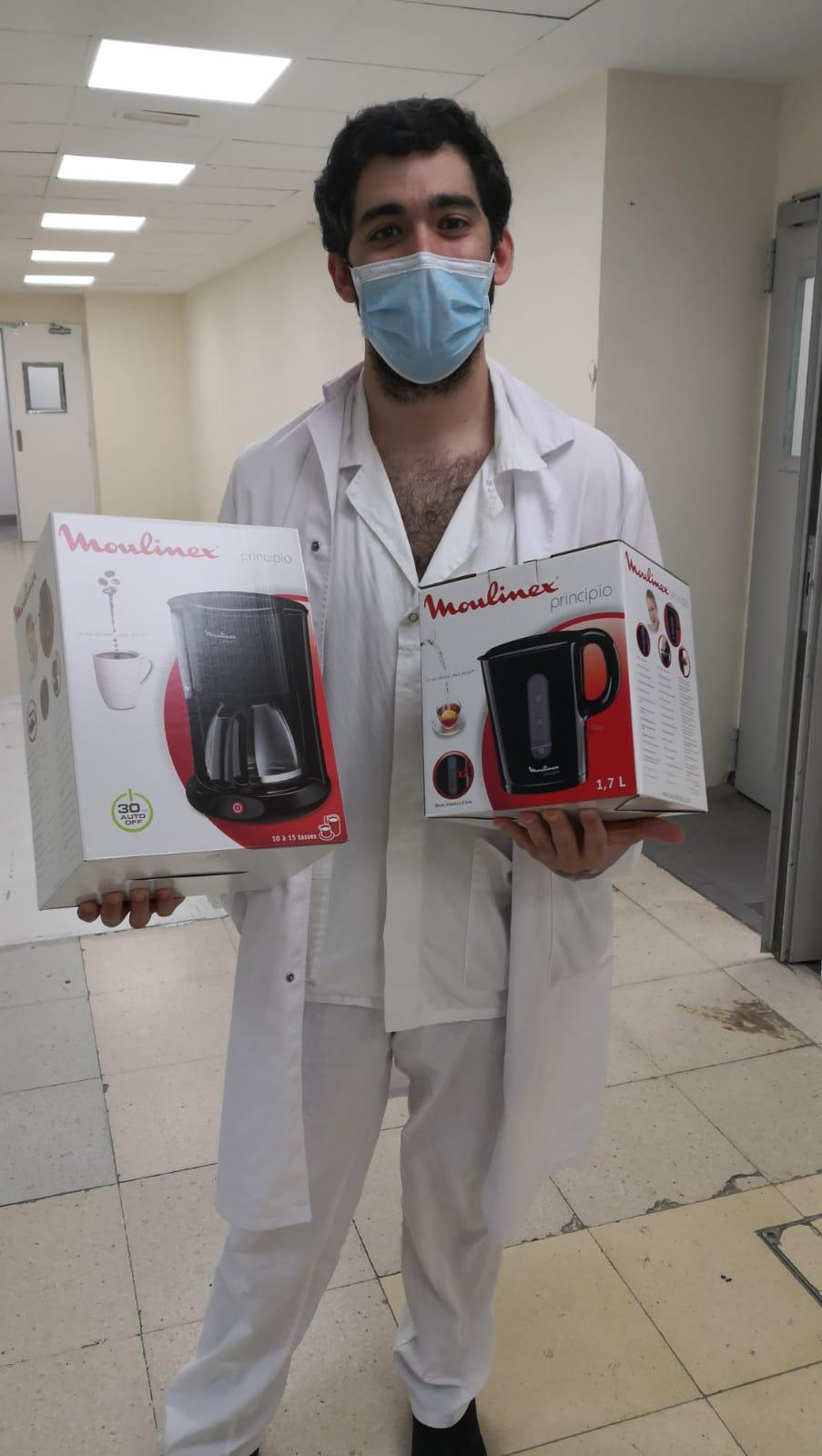Moulinex dona productos a residencias y hospitales