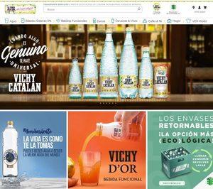 Vichy Catalan potencia la venta a través de su tienda online