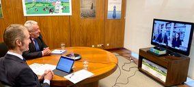 Directivos de Capsa se reúnen con los Reyes como muestra de apoyo al sector ganadero