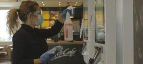 McDonalds vuelve a la actividad en la mitad de sus restaurantes