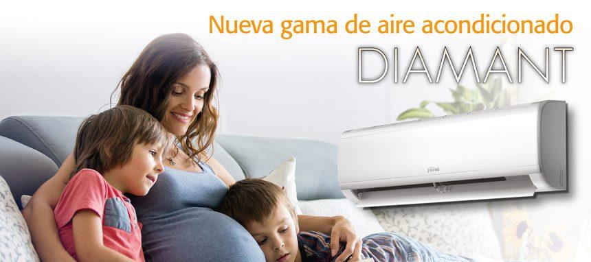 Ferroli lanza su nueva gama de aire acondicionado Diamant