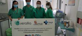 Verallia dona 300.000 euros en material sanitario y alimentos de primera necesidad