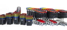 Araven utilizará material reciclado en toda su gama de cestas y carros de la compra