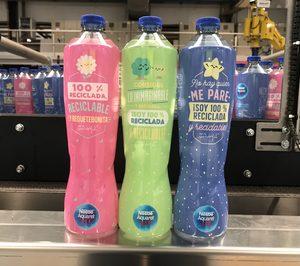 Aquarel presenta su primera botella con un 100% de r-PET