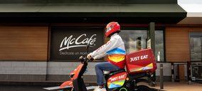 McDonalds extiende a toda España su acuerdo con Just Eat