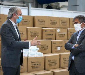 Grupo Saica dona 700.000 mascarillas a la ciudad de Zaragoza