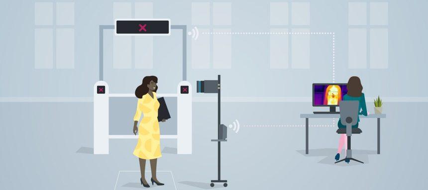 Siemens presenta una solución para medir la temperatura corporal