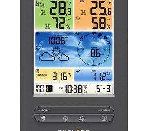 Explore Scientific, nueva gama de estaciones meteorológicas y relojes proyectores