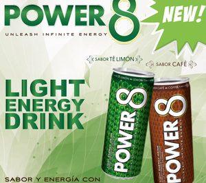 Goup Up y Power Drinks lanzan la bebida energética light Power 8