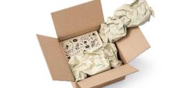 Storopack desarrolla un papel fabricado a partir de hierba