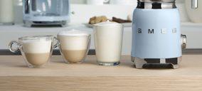 Smeg despliega su gama de producto en torno al café