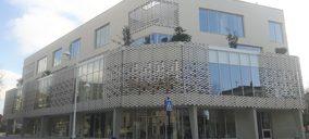 El tejido cerámico Flexbrick viste un centro cultural en Francia