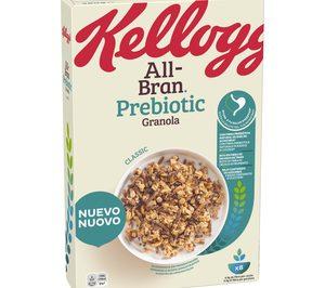 Kellogg lanza la gama 'All-Bran' con fibra prebiótica