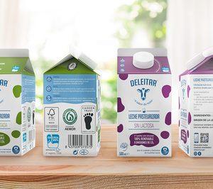 Galacteum amplía los formatos de su leche Deleitar, envasada en Tetra Rex Plant-Based