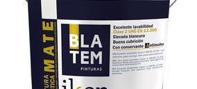Blatem presenta su nueva pintura mate lavable Ikon