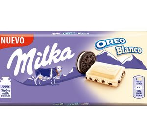 Mondelez amplía su gama Milka Oreo con una versión con chocolate blanco