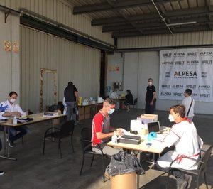 Alpesa realiza más de 400 tests rápidos a sus empleados a través de la Fundación Trilema