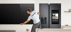 Samsung ofrece la entrega e instalación a domicilio para clientes de su tienda online