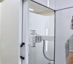 Orcrom Seguridad desarrolla cabinas para la realización de radiografías de tórax que detectan Covid-19