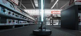 Cecotec Conga Apolo, un robot germicida para todo tipo de negocios