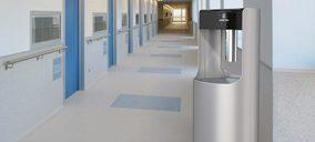 Ariston Thermo Group presenta la fuente de lavado y desinfección de manos IGEA CARE