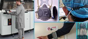 Ingram Micro colabora con HP en la donación de 1.200 litros de consumible para la impresión de piezas en 3D