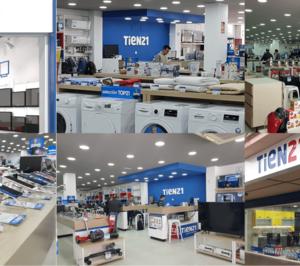 Tien21 comienza su campaña gracias por estar ahí para la promoción de electrodomésticos y electrónica