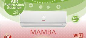 Giatsu presenta su split 1x1 Mamba, con plasma antivirus y antibacterias