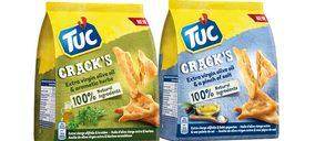 Mondelez presenta la versión más natural de sus crackers 'Tuc'
