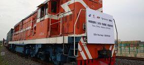 DSV transporta en tren material sanitario desde China a Madrid