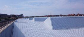 Metalpanel rehabilita la cubierta de los talleres centrales de Metro de Madrid en Canillejas
