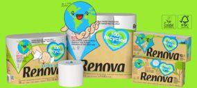 Renova concluye un profundo plan inversor y lanza nueva gama de papel reciclado