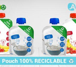 Alnut renueva su portfolio con un formato pouch totalmente reciclable