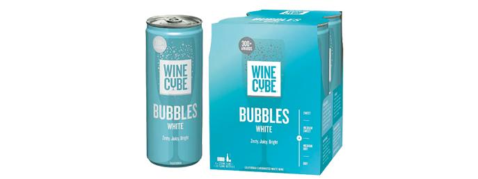 Vino blanco Wine Cube California Carbonated Bubbles (7)