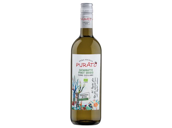 Vino orgánico Purato Catarratto Pinot Grigio 2017 (1)
