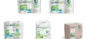 La gama de tisú reciclado con envase compostable My Tissue Ecologic+ hace su entrada en gran consumo